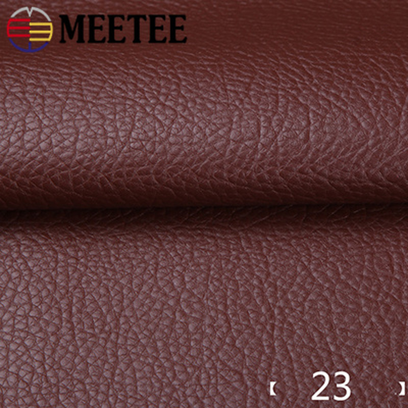 Image 4 - 50*135cm Faux Leather Fabric Solid Color Suede Synthetic Self adhesive Leather Fabric Patching Simulation Leather Adhesive PatchSynthetic Leather   -