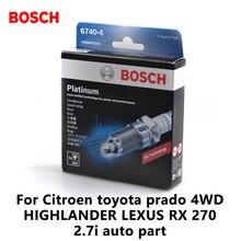 4pieces/set BOSCH Platinum car Spark Plug FR8NPP30W for Citroen toyota prado 4WD HIGHLANDER LEXUS RX 270 2.7i auto part