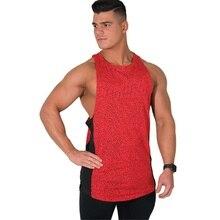 Cotton Gyms Tank Tops Men Sleeveless Tank Tops For Boys Bodybuilding Clothing Undershirt Fitness Mens Stringer Workout Singlet цена