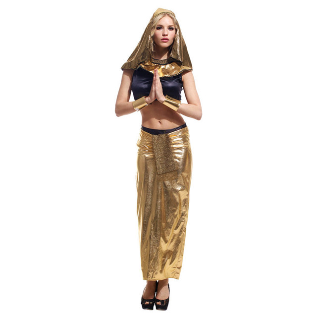 Womanu0027s New Ancient Egyptian Queen Cleopatra Costumes Queen Cosplay Clothing Export Uniform Halloween Stage Disfraces  sc 1 st  AliExpress.com & Womanu0027s New Ancient Egyptian Queen Cleopatra Costumes Queen Cosplay ...