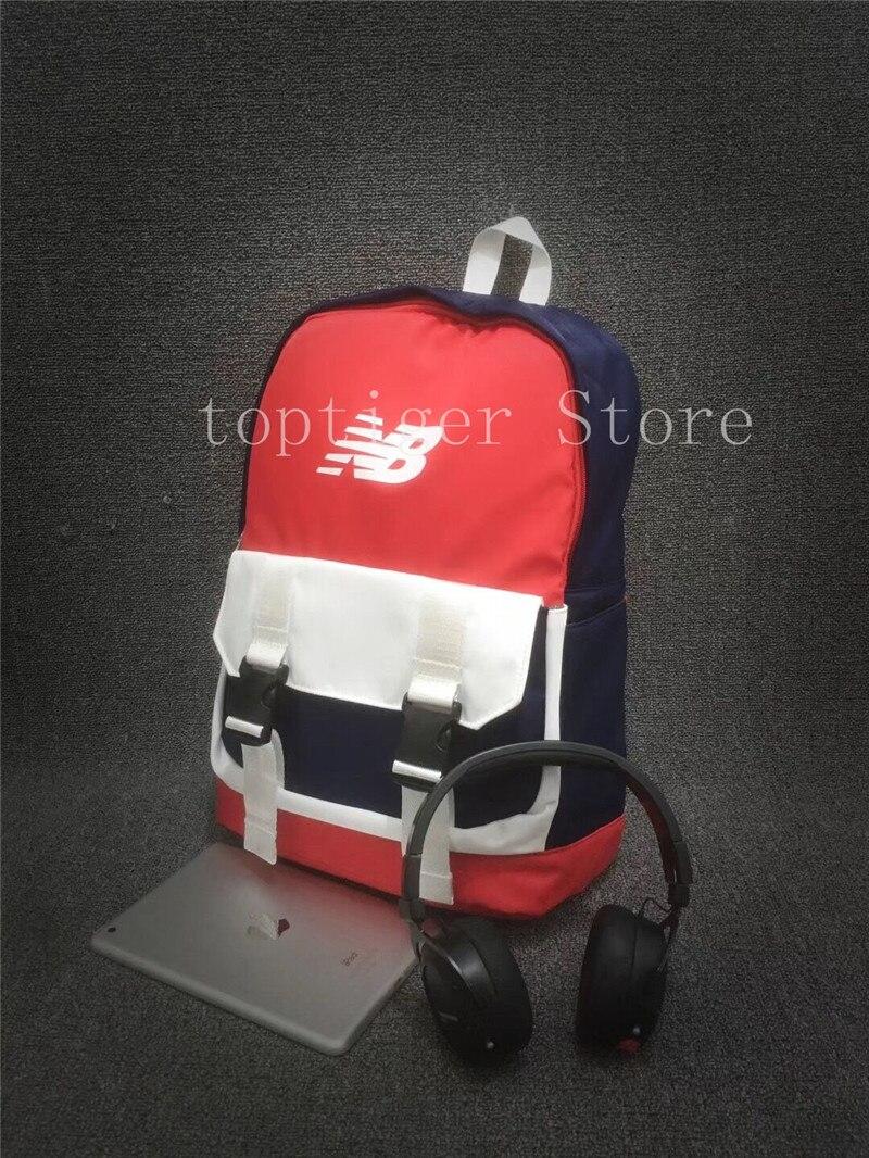 Товар New Balance Accelerator Backpack High-quality Bag Blue Red Color  Leisure Backpack 2018 Student Bag Hot Sale 2 Colors - 96f1eaf33efa
