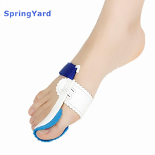 цена на SpringYard PC Hallux Valgus Orthopedic Bunion Corrector Toe Separator Adjust Splint Big Toe Protector Foot Care