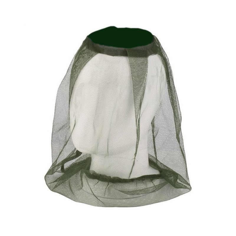 Nieuwe Tuin Bijenteelt Hoed Camouflage Netten Voor Klamboe Hoed Outdoor Mosquito Cap Bug Insect Fishing Hat Mesh Gezicht Protector