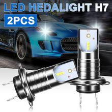 For BMW Audi Kia 2Pcs H7 LED Headlight 55W 13000LM 6000K Car Conversion Kit Canbus Error Free Bulb White