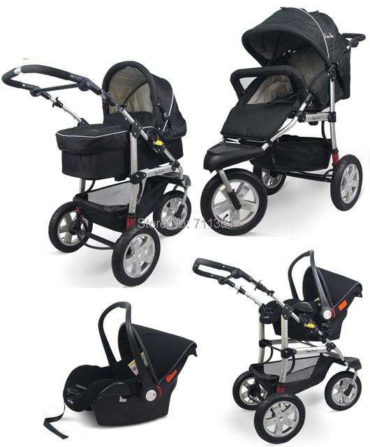 Best selling Winter Baby Stroller 3 In 1 Aluminium Frame Baby ...
