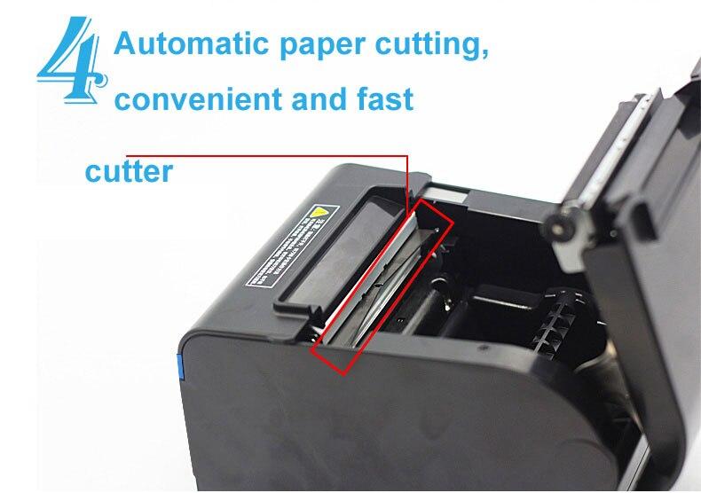 High quality original Auto-cutter 80mm Thermal Receipt Printer  Kitchen/Restaurant printer POS printer