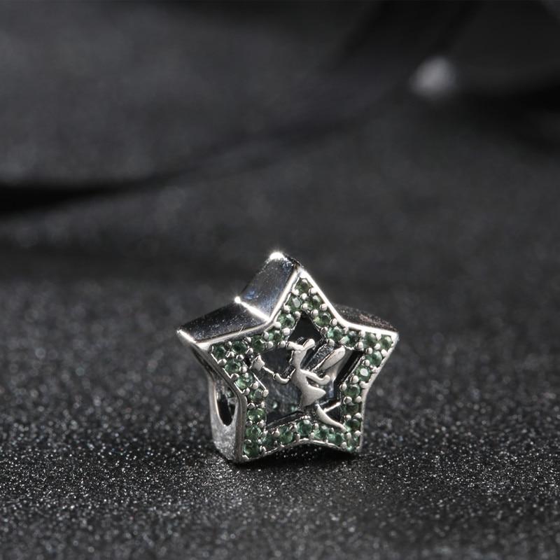 vruće 925 srebro Europski kubni cirkonij Charm perle Fit Pandora - Modni nakit - Foto 3