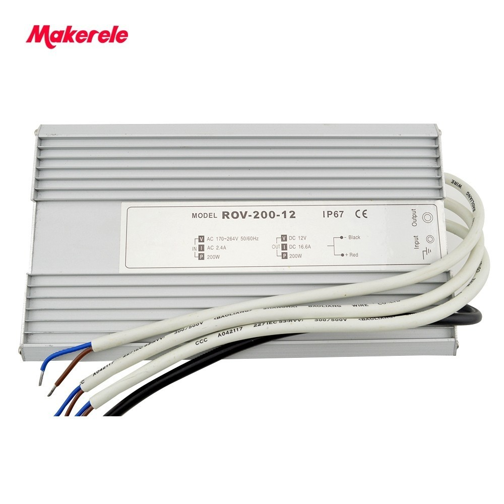 200w Led driver switching power supply CE approved high qualtity waterproof LED power supply CE approved 90w led driver dc40v 2 7a high power led driver for flood light street light ip65 constant current drive power supply