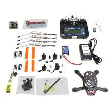 JMT CC3D 150mm Mini RC Quadopter 3100KV Motor + OPTO 16A ESC + Flysky 6CH Transmitter +1000MAH Battery DIY FPV Drone