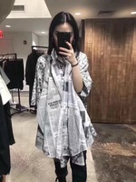 WLD06299 Women Blouses & Shirts 2018 New Arrival Europe Style Runway Fashion Designer Collection women's Clothing