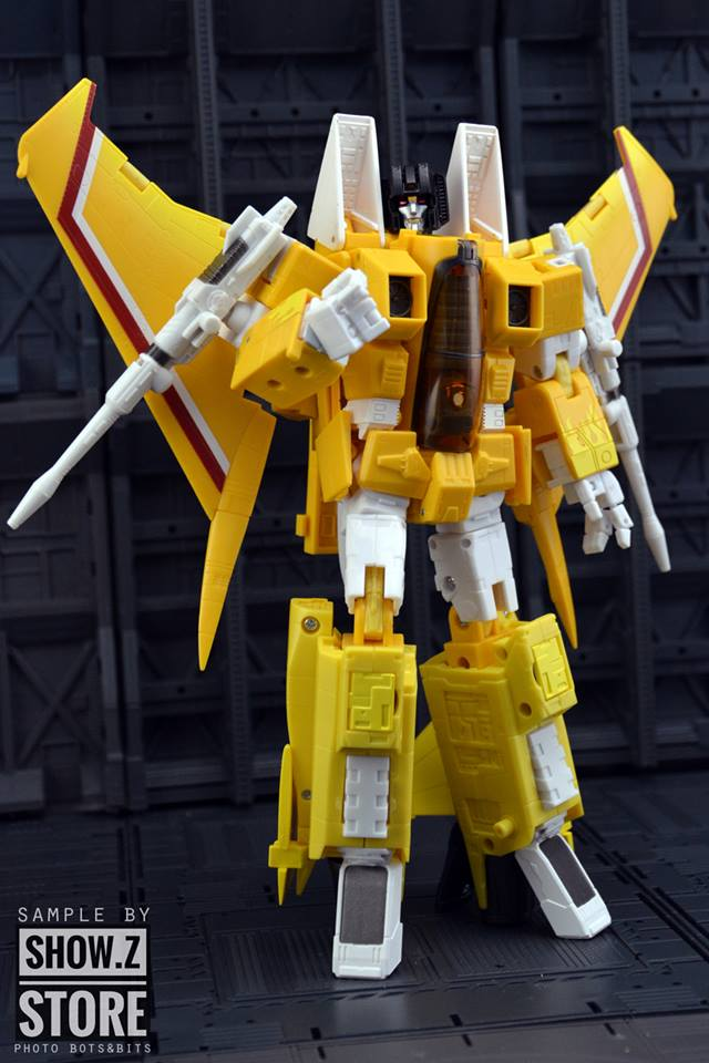 [Show.Z Store] YES MODEL YM MP-11S Sunstorm Transformation Action Figure managing the store