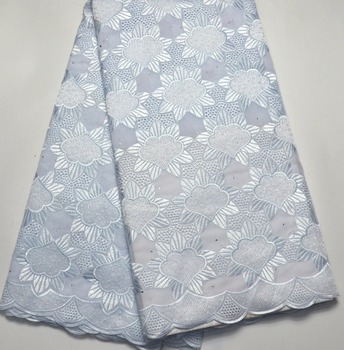 Latest 100% Swiss Voile Lace  high quality Pure white wedding lace for Wedding