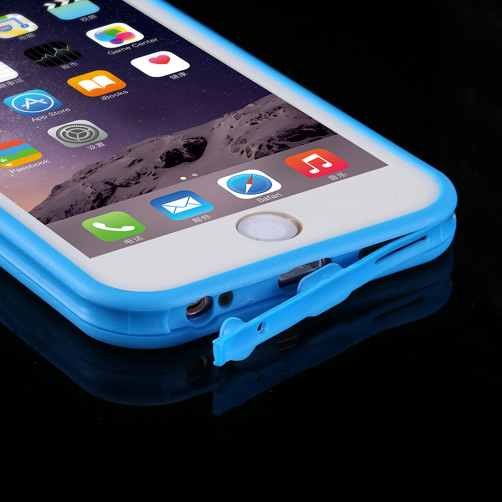 the latest ce555 b15b1 US $4.7 |KISSCASE Waterproof Case For iPhone 6 7 Plus 5S Underwater Clear  Smart Screen Touch Sense Diving Cover For iPhone 6 6S Plus-in Fitted Cases  ...