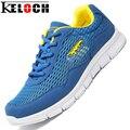 Keloch 2017 llegan nuevos de malla zapatos de las mujeres con cordones de zapato de la playa las mujeres cómodas amantes ligeros zapatos agua zapatos mujer