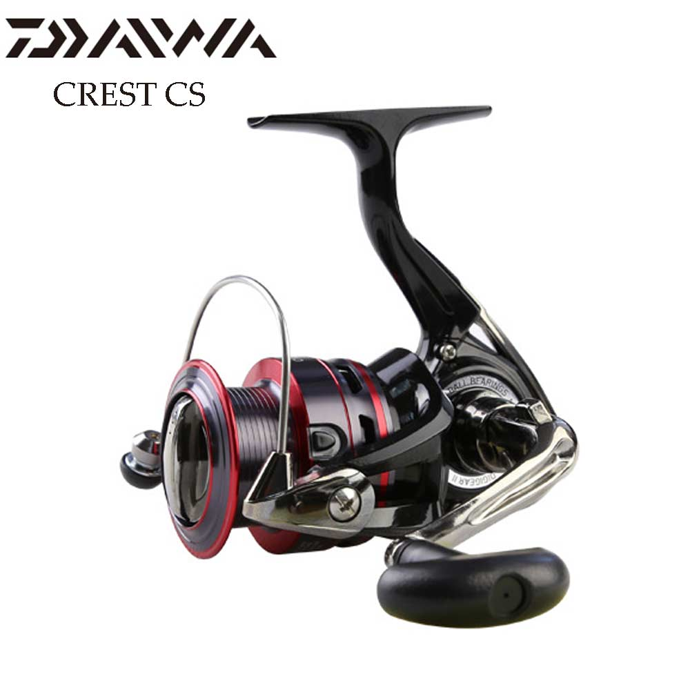 DAIWA fishing reel CREST CS 2000/2500/3000/4000 Aluminium Spool Light body and DIGIGEAR II with 2KG-6KG Power