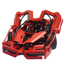 2017 New Bale 9186 1359Pcs Enzo 1:10 Car Model Building Kits Blocks Bricks Educational Toy Children Gift Compatible With Gift