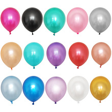 Black Balloons 50pcs 12 Inch 2.2g Wedding Decoration Latex For Happy Birthday Inflatable Helium Party Supplies