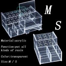 Mới 1 Nha Khoa Acrylic Người Tổ Chức Cho Ống Tiêm Nhựa Dính Mút Trang Điểm Cao Cấp S/L Bán Chạy