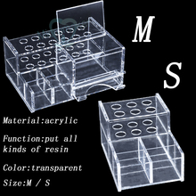 NEW 1PC Dental Acrylic Organizer for Syringe Resin Adhesive Applicator High Quality S/L for SALE