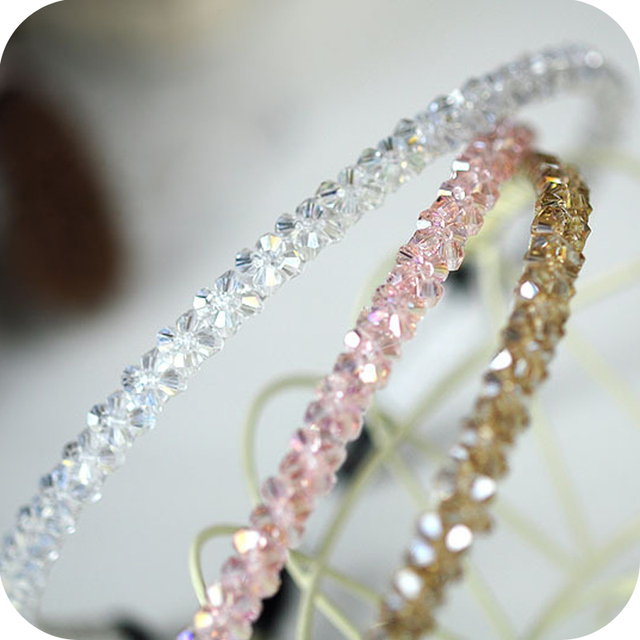 Fashion  accessories cuicanduomu double all-match elegant crystal hair bands free shipping