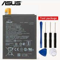 Original Asus ZenFone 3 Telefon Batterie Für ASUS ZE553KL ZenFone 3 Dual Z01HDA SIM LTE Zoom S C11P1612 5000 mAh