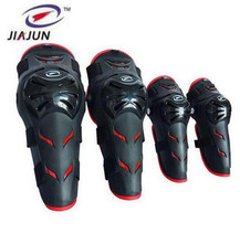 JIAJUN Professional Motorcycle Riding Skating Knights Drop Resistance Protective Equipment Knee Elbow Calf Protection