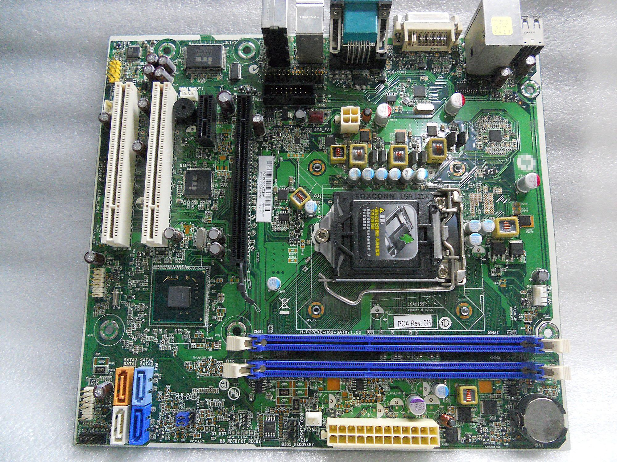 original desktop motherboard 3330 3380 MT SFF 694617-001 660512-001 H61 DDR3 LGA1155 mainboard dc5850 ms 7500 sff mt desktop motherboard 461537 001 450725 001 100% tested good quality