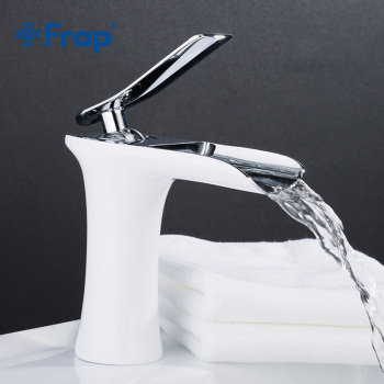 Faucet For Bathroom Sink   Frap New Basin Faucets Waterfall Bathroom Faucet Single Handle Basin Mixer Tap Bath Antique Faucet Brass Sink Water Crane Silver