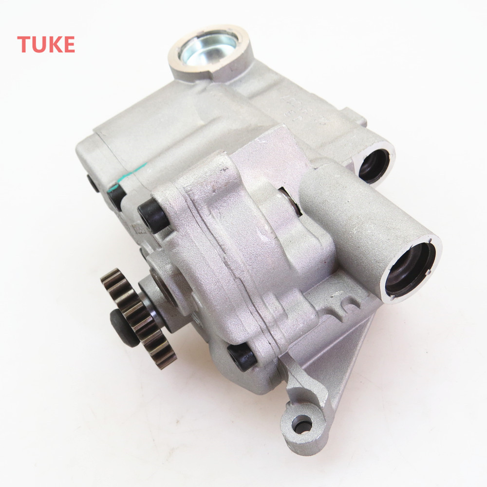 TUKE 1.8T 2.0 Engine Lubrication Oil Pump Assembly For VW Jetta Golf Passat Scirocco Tiguan Beetle Octavia Seat Leon 06J115105AC jiangdong engine parts for tractor the set of fuel pump repair kit for engine jd495