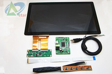 """HDMI Control LCD fahrer bord + 13,3 """"kapazitive touch-montage + LCD 1920x1080 IPS LCD screen DIY kits Modul Auto Raspberry Pi 3"""