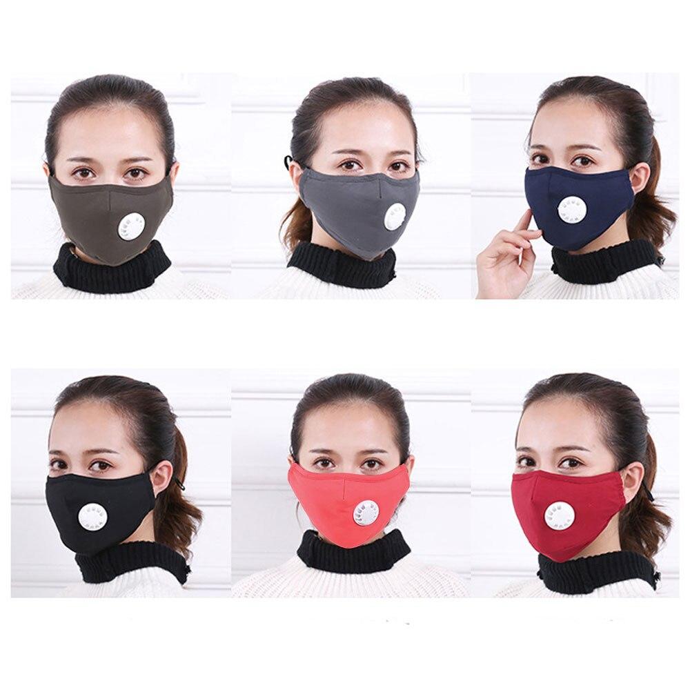 Enfants Garçons Filles Unisexe Poussière Preuve Vent Réutilisable Face Shield