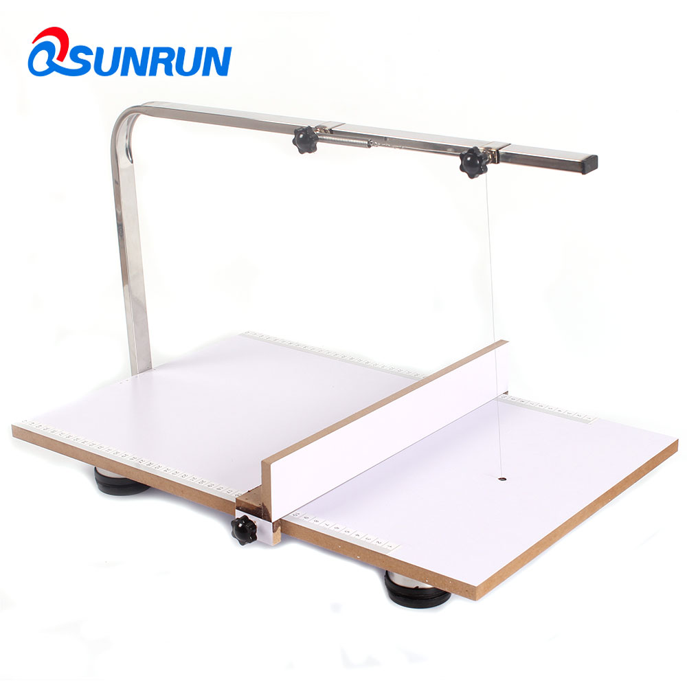 Qsunrun 220v Board Hot Wire Styrofoam Cutter Foam Cutting Machine 48 Wiring For Table Saw 4838cm With Temperature Adjutable Work Tool In Parts From Tools On
