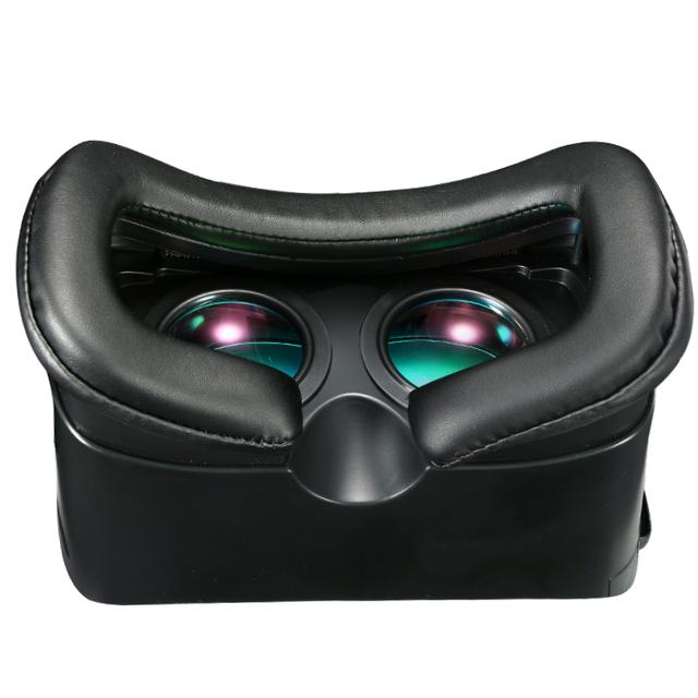 VR Box 3.0 vr plus Virtual Reality Helmet 3D Glasses Coating Glass Lenses vrbox Cardboard Headset for4-6′ Mobile +Upadte Remote