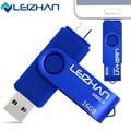 LEIZHAN Freeshipping OTG USB stick pen drive 32g 16g 8g 4g computer USB drive 2.0 memory stick for smart phone flash memory card