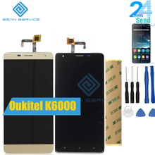 For Oukitel K6000 LCD in Mobile phone LC