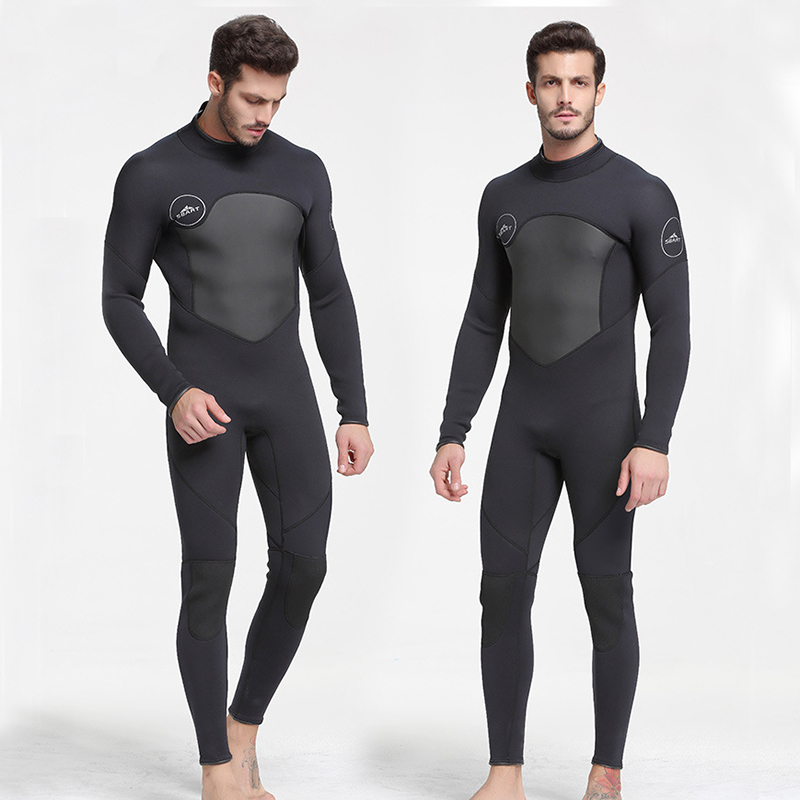 SBART 3MM Neoprene Scuba Diving Surfing Wetsuit Men Warm Full Body Spearfishing Wet Suit For Triathlon Kitesurfing Jumpsuit L sbart upf50 806 xuancai