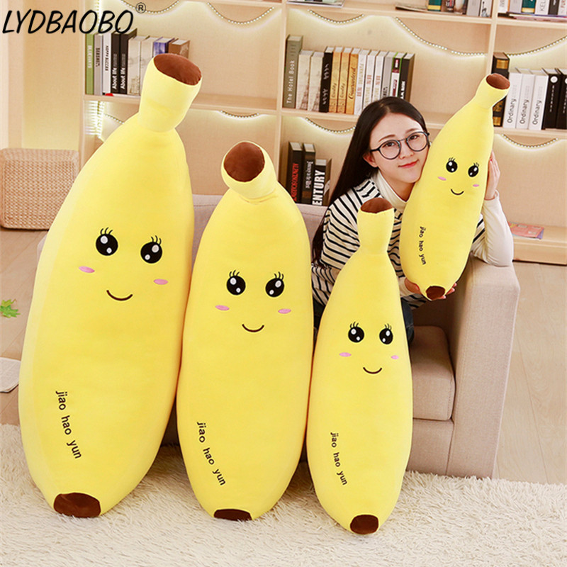 2019 New Style 1pc Kid Banana Doll Toy Stuffed Realistic Christmas Vegetable Fruit Simulation Toy Plush Doll For Christmas Children Home Decor Welding Equipment