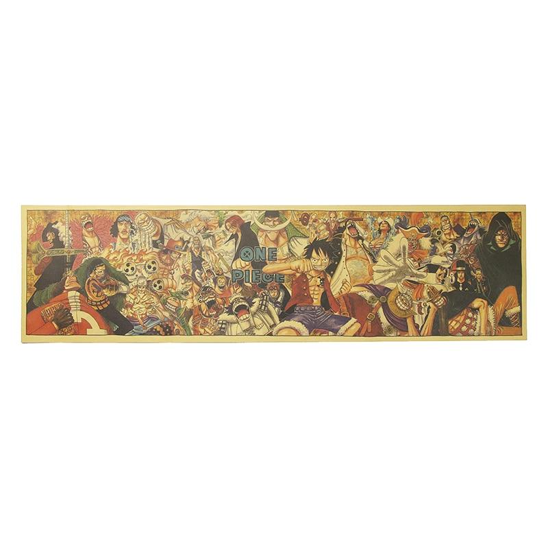 Dlkklb-affiche de Collection de Portrait | Classique, en papier Kraft, décor de Bar café, affiche de peintures murales pour dortoir, 72x18cm
