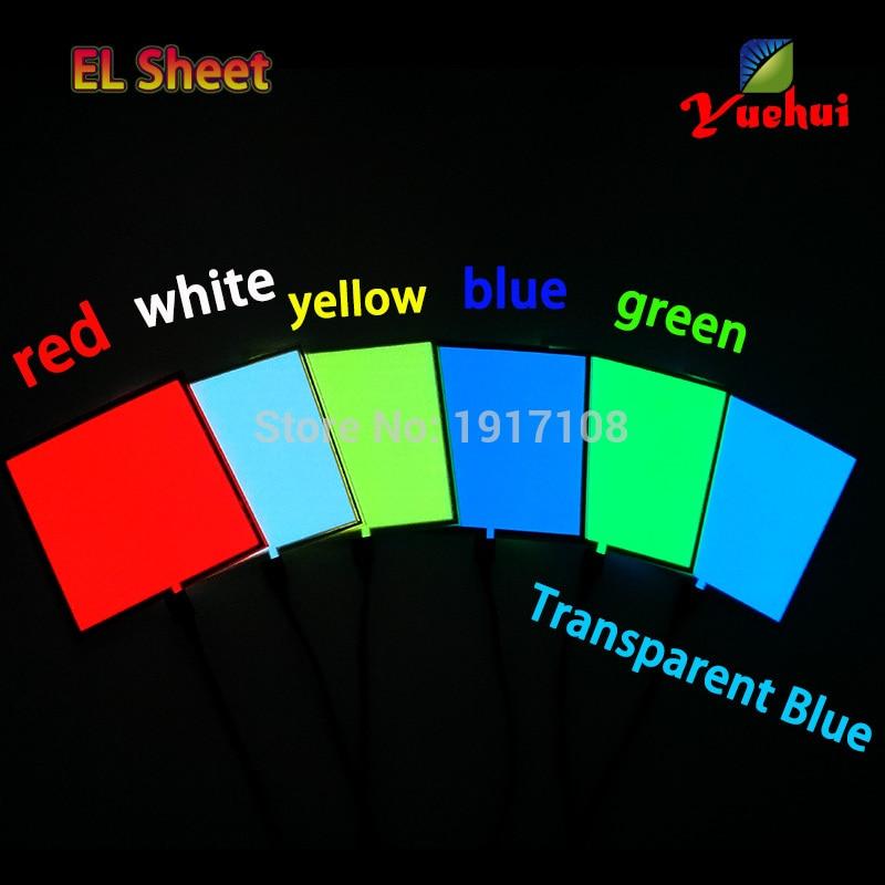 2017 Altı Renkler Sıcak Sales10X10CM EL Levha EL Paneli için - Tatiller ve Partiler Için - Fotoğraf 4