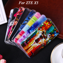 Soft TPU Phone Case For ZTE Blade X5 Case For ZTE Blade X5 D3 5.0 inch Blade D3 phone covers shell Bag Housing cases