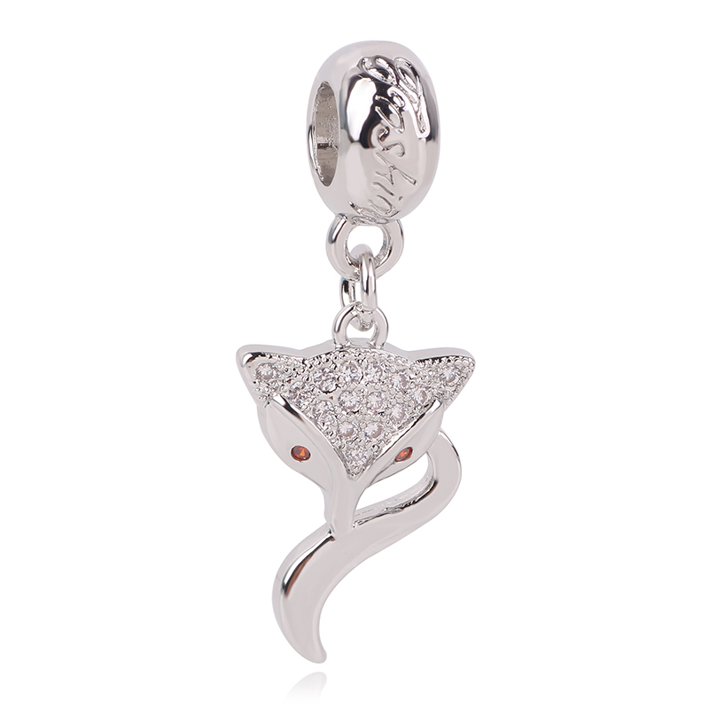 2019 New Authentic 925 Silver Dumbo Hanging Charm Mrs Jumbo Charm Bracelet Fit Pandora Bracelet DIY Mickey Bead Jewelry Bangle in Beads from Jewelry Accessories