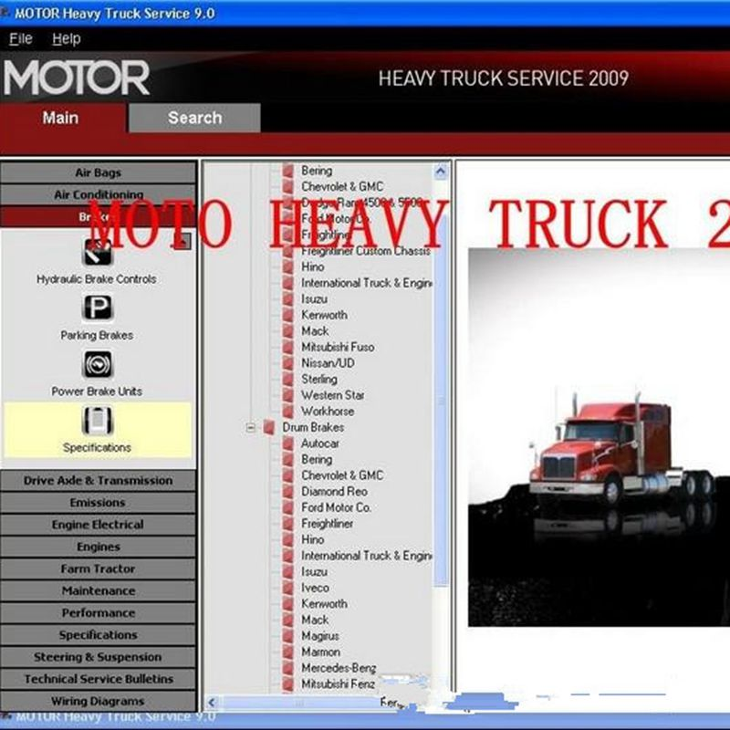 motor heavy truck service manuals is equally famous as mitchell rh aliexpress com Chevy 1500 Wiring Diagram Hino Truck Wiring Diagram