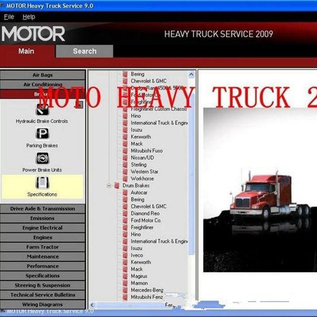 Car repair software >> mitchell on demand heavy truck service.