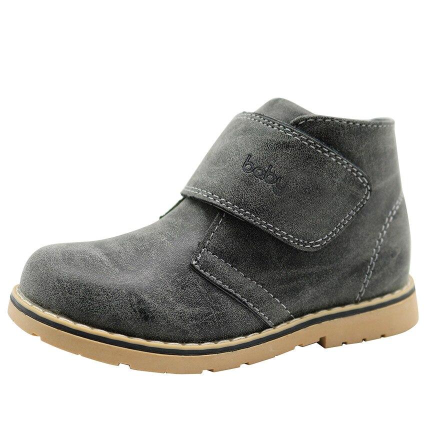 cnohehok 2016 new winter children shoes pu leather
