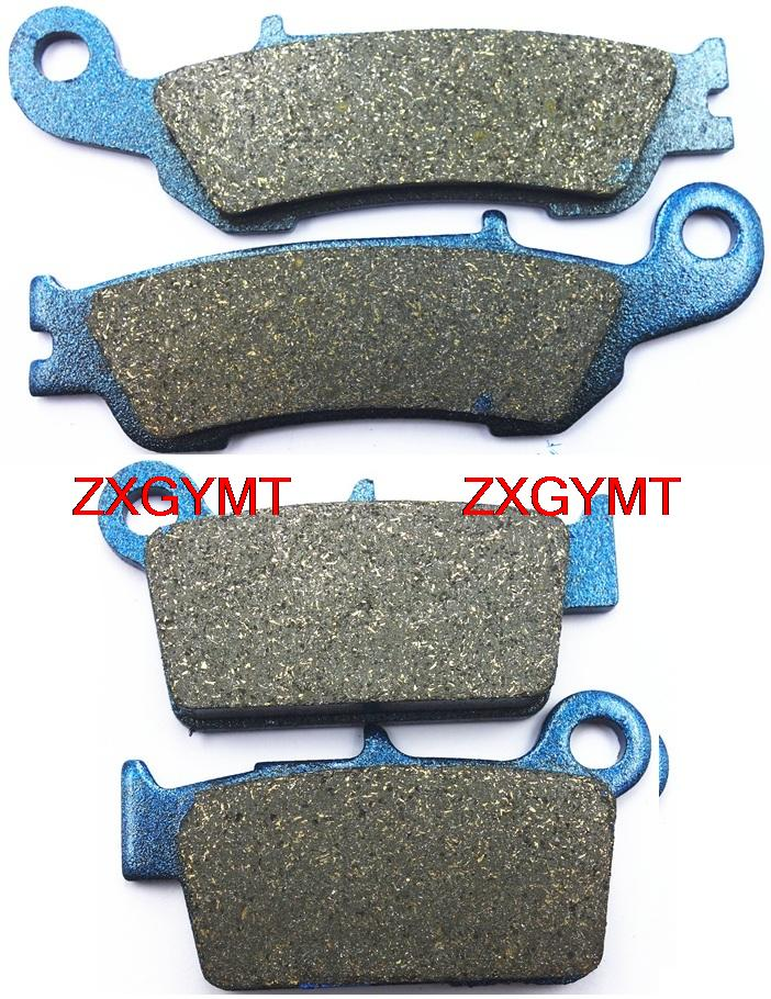 Motorcycle Semi-Metallic Brake Pads Set for YAMAHA YZ250 YZ 250 F 2010 - 2013