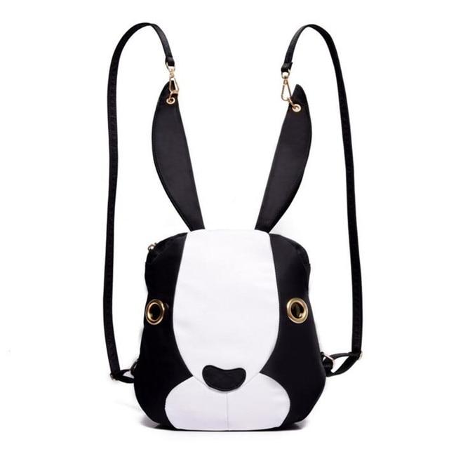 2017 New Design Ideas Fashion Girls Backpack Cute Long Ears Rabbit ...
