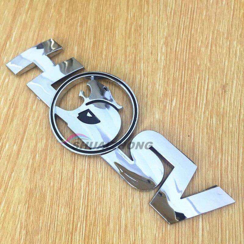 Новинка хромированная задняя наклейка HSV с номером/буквой логотипом значок эмблема наклейка автостайлинг автомобильные аксессуары
