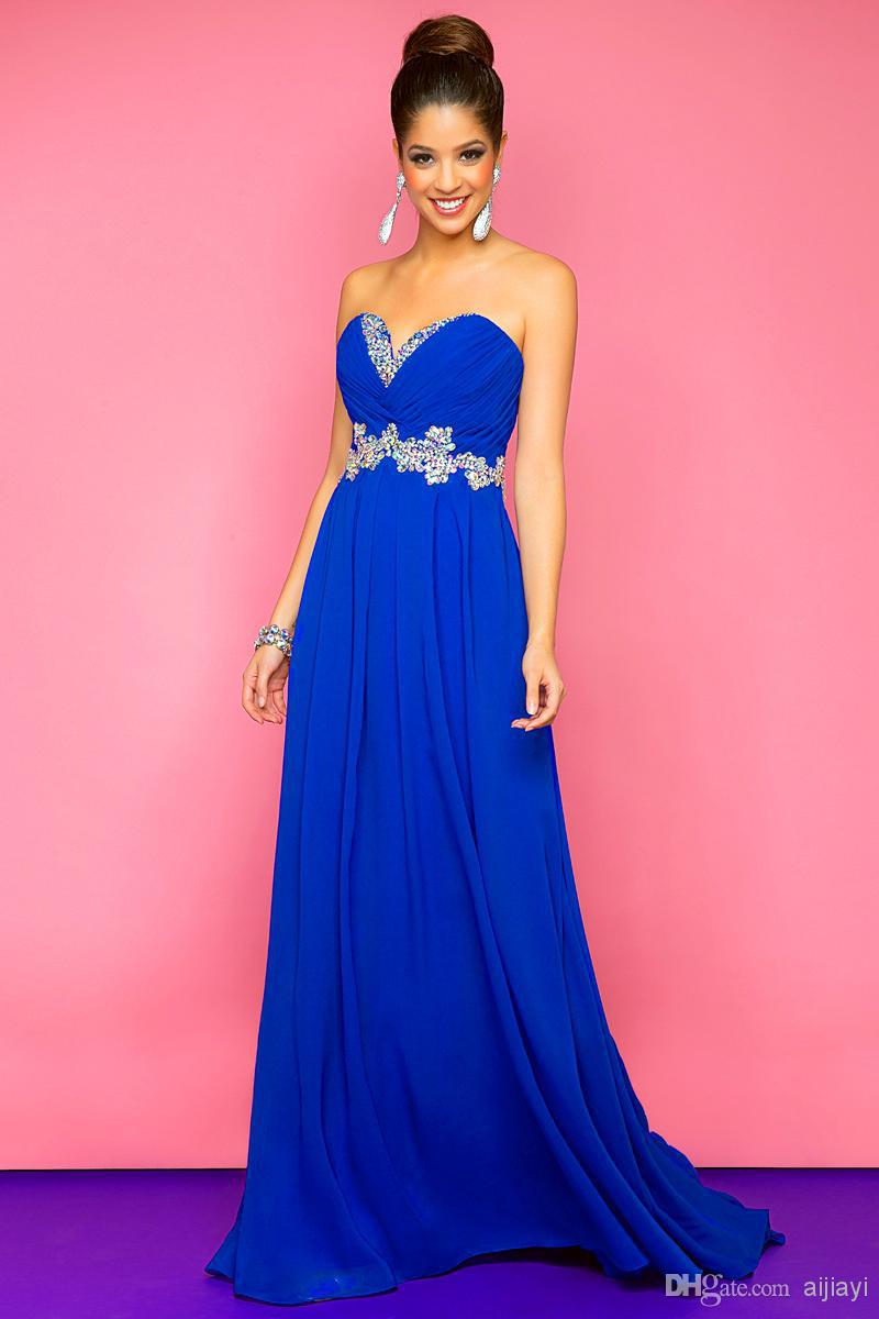 royal blue dress - HD800×1200