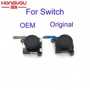 Image 1 - 30 adet onarım bölümü 3D Joystick düğme Analog sopa denetleyici Thumbstick için değiştirin NS NX Nintendo anahtarı Joy Con W/ Flex kablo