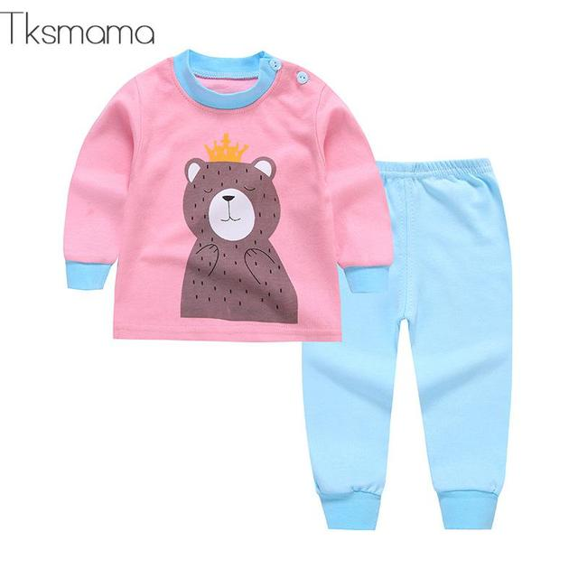 Winter Fall Newborn Baby Girl Clothes Long Sleeve T-shirt + Pants Suit For Girls' Fashion Princess Clothing Sets Zjs00013